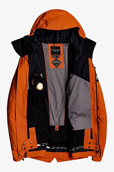 Куртка сноубордическая QUIKSILVER Black Alder Pureed Pumpkin
