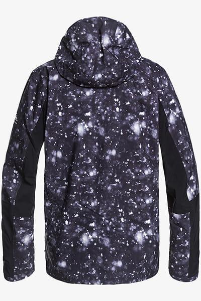 Куртка сноубордическая QUIKSILVER Forever Jk Black Woolflake