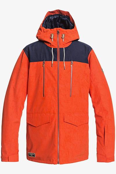 Куртка сноубордическая QUIKSILVER Fairbanks Pureed Pumpkin