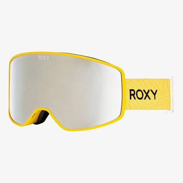 Маска для сноуборда женская Roxy Storm Women Golden Rod