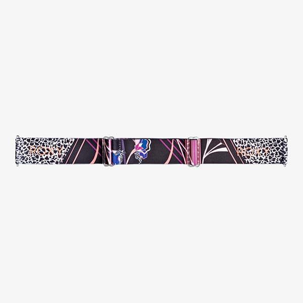 Маска для сноуборда женская Roxy Rosewood Pop True Black Pop