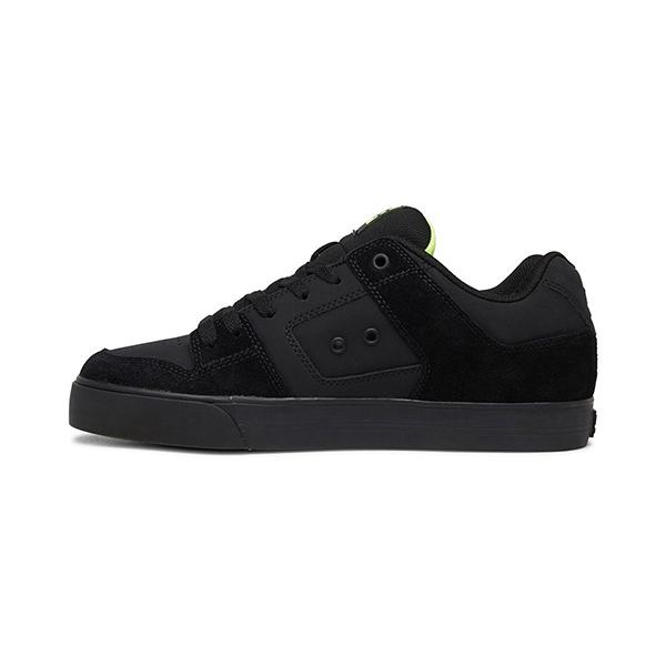 Кеды DC Shoes Pure Bky Black/Yellow