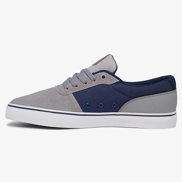 Кеды DC Shoes Switch Grey/Orange/Grey