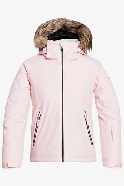 Куртка сноубордическая детский Roxy Jet Ski Sol Powder Pink