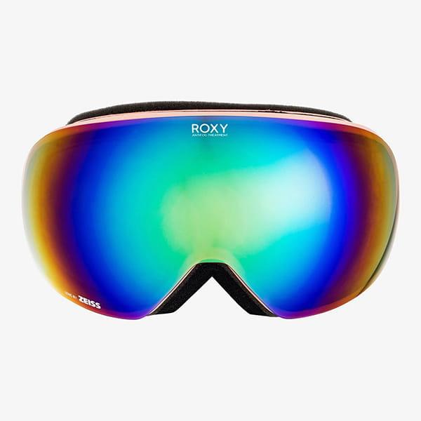 Маска для сноуборда женская Roxy Popscreen True Black Tropical