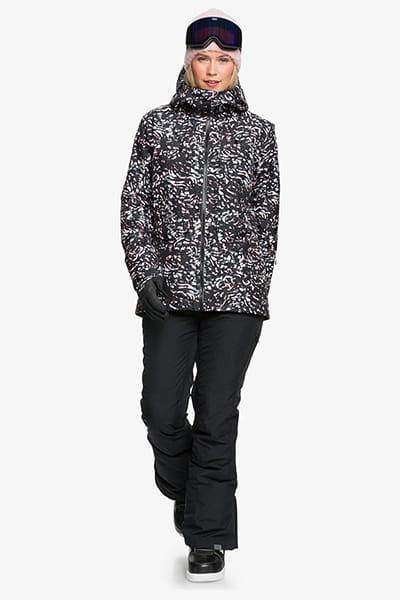 Куртка сноубордическая женский Roxy Essence Jk True Black Izi