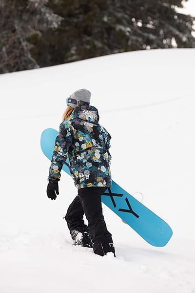 Куртка сноубордическая женский Roxy Haze Jk True Black Sammy