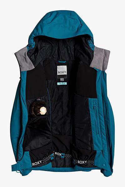 Куртка сноубордическая женский Roxy Dusk Jk Ocean Depths