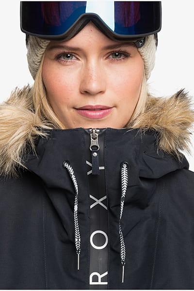 Куртка сноубордическая женский Roxy Shelter Jk True Black