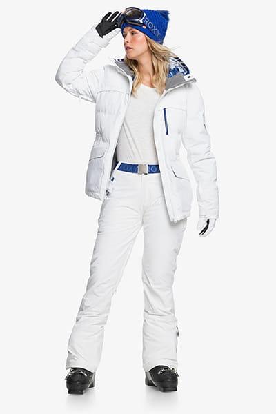Штаны сноубордические женские Roxy Premiere Pt Bright White