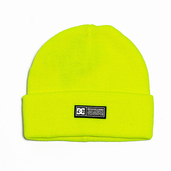 Шапка DC Shoes Label Wmns Bean Safety Yellow
