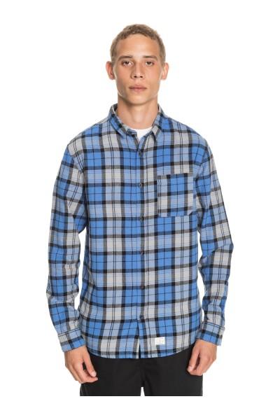 Рубашка QUIKSILVER Theplaidflannel Blue Yonder Plaid