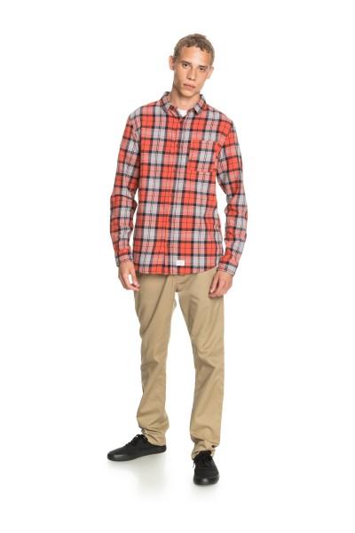 Рубашка QUIKSILVER Theplaidflannel Chilli Plaid Flannel