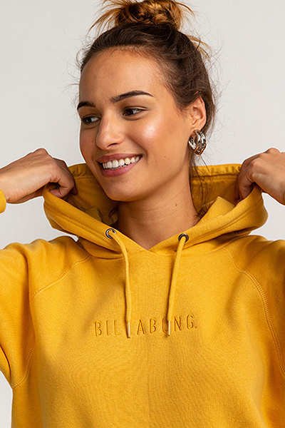 Толстовка женская Billabong Legacy Bright Gold