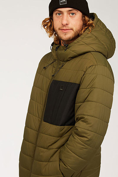 Куртка Billabong Journey Puffer Military