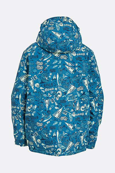 Куртка сноубордическая детский Billabong All Day Boys Forest Gum