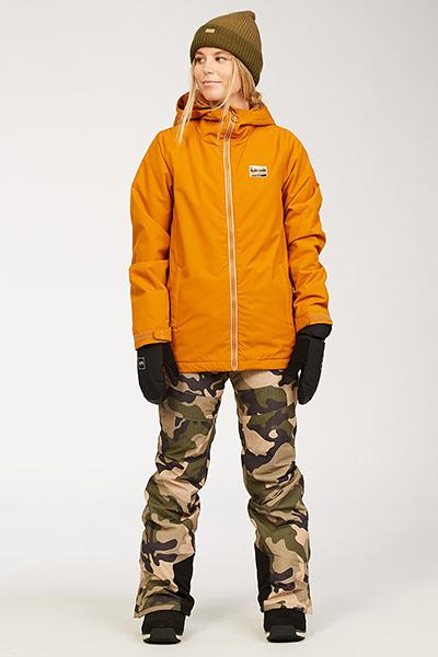 Куртка сноубордическая Billabong Sula Jkt Brown