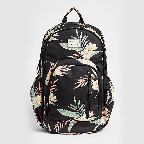 Купить рюкзак женский Billabong Roadie Black/Green (U9BP03-BIF0-8698) в интернет-магазине Proskater.ru