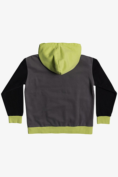 Толстовка детская QUIKSILVER Heritagmidoblay Green Glow