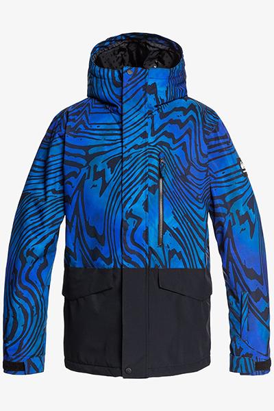Куртка сноубордическая QUIKSILVER Mission Bloc Everglade High Dye