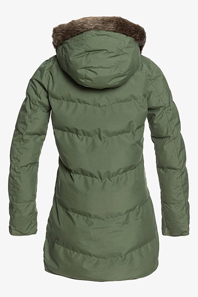 Куртка женская Roxy Ellie Plus Bronze Green