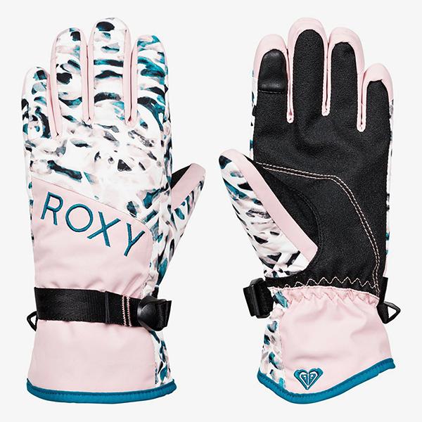 Перчатки сноубордические женские Roxy Jetty Girl Glov Bright White