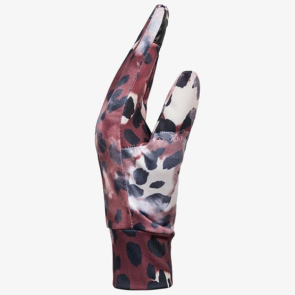 Перчатки сноубордические женские Roxy Liner Gloves Oxblood Red Leopold