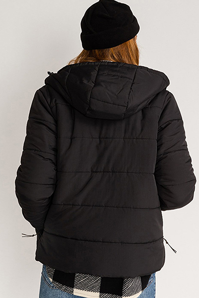 Куртка женская Billabong Transport Puffer Black