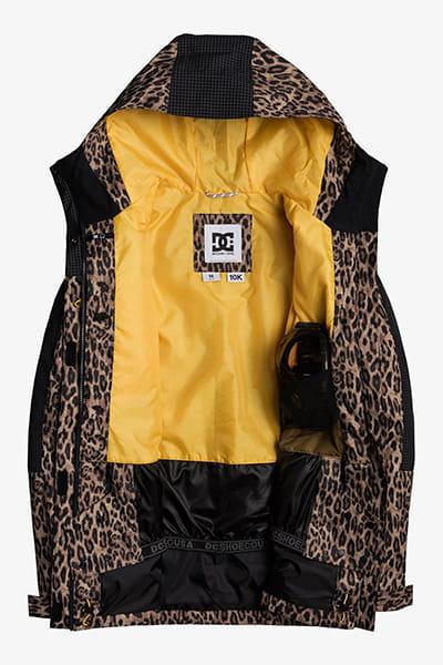 Куртка сноубордическая женский DC Shoes Gemini Jacket Leopard Fade
