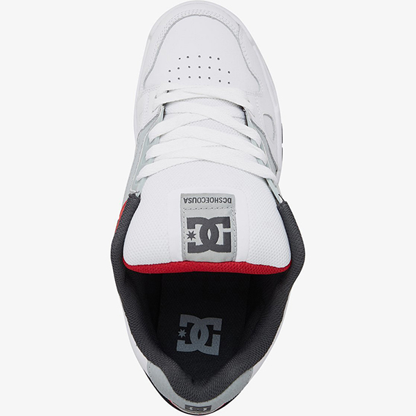 Кроссовки DC Shoes Stag Wyr White/Grey/Red