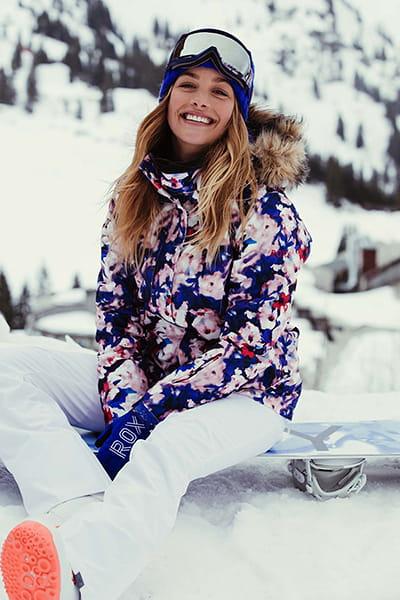 Штаны сноубордические женские Roxy Creek Bright White