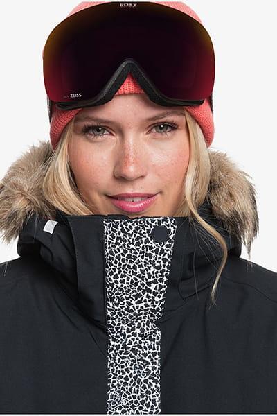 Куртка сноубордическая женский Roxy Jet Ski Jk True Black Pop Anima