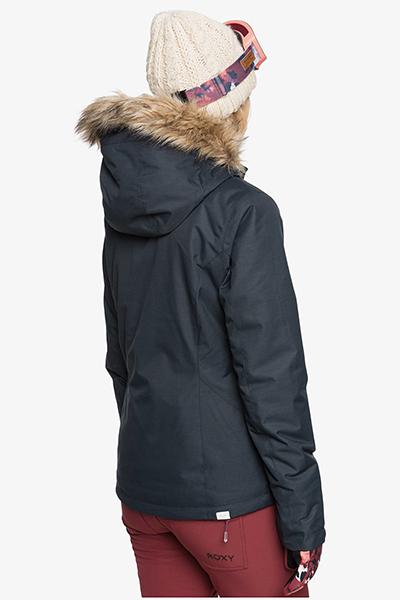 Куртка сноубордическая женский Roxy Jet Ski Solid True Black