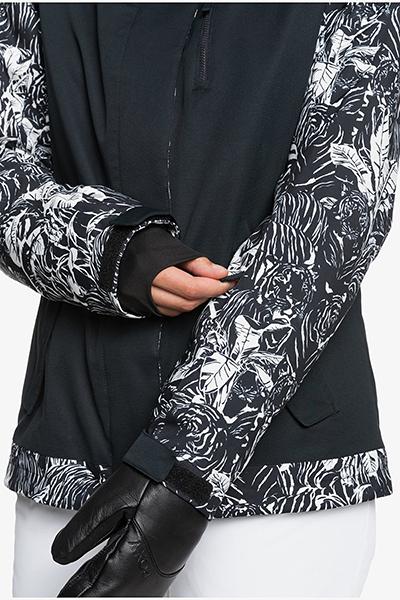 Куртка сноубордическая женский Roxy Jetty Block True Black Tiger Cam