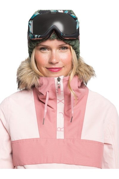 Куртка сноубордическая женский Roxy Shelter Jk Silver Pink