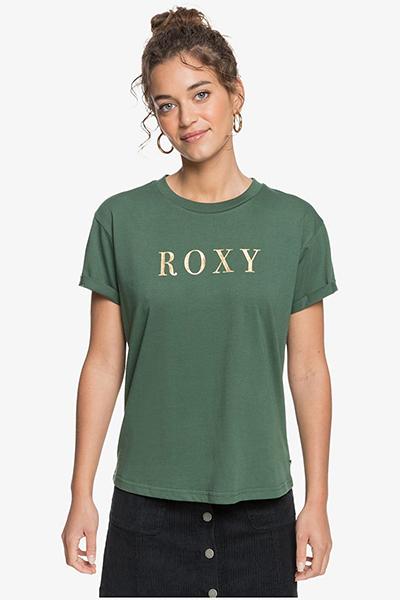 Футболка женская Roxy Epic Af Word Cilantro