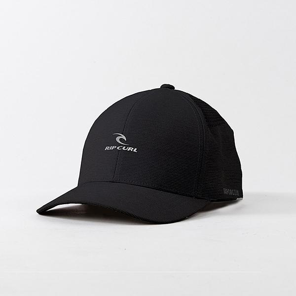 Бейсболка классическая Rip Curl Vaporcool Flexfit Black