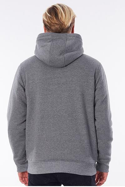 Толстовка Rip Curl Agile Lined Fleece Dark Grey Marle