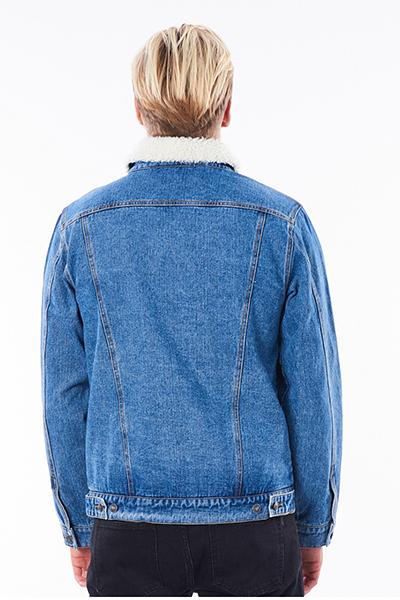Куртка джинсовая Rip Curl Angus Denim Mid Blue