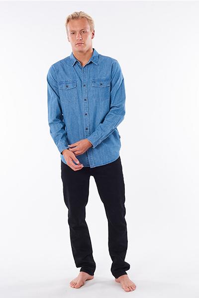 Джинсовая рубашка Rip Curl Searchers Denim Dusty Blue