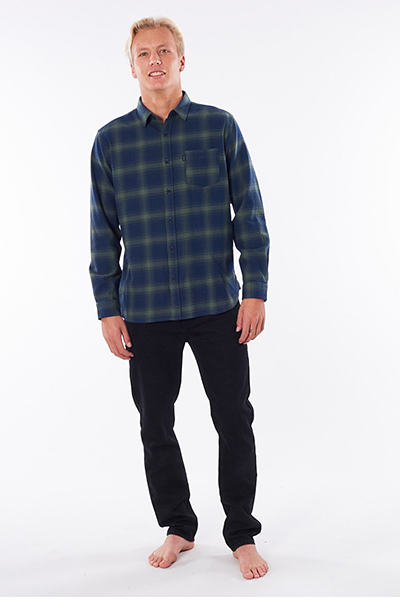 Рубашка Rip Curl Check This Navy/Green