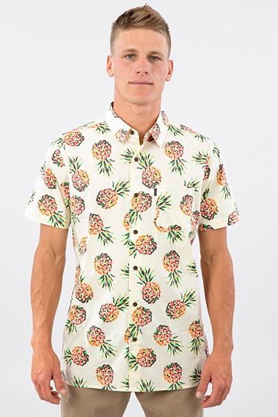 Рубашка Rip Curl Caicos Yellow