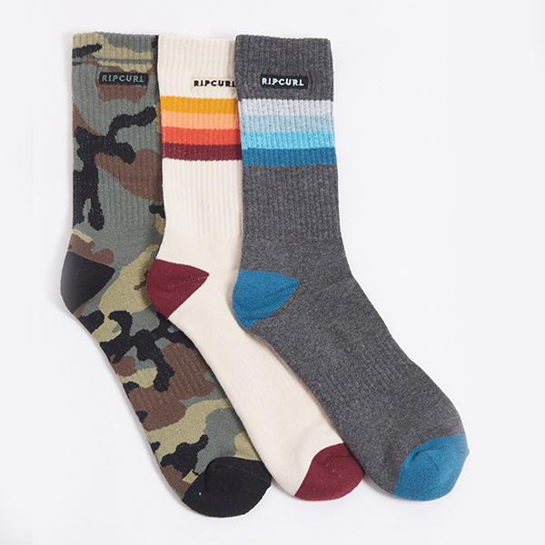 Носки Rip Curl Art Party Sock 3-pk Mixed
