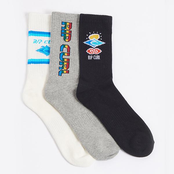 Носки Rip Curl Icons Sock 3-pk Classic