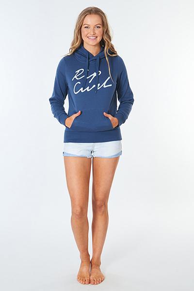 Толстовка женская Rip Curl Logo Fleece Blue