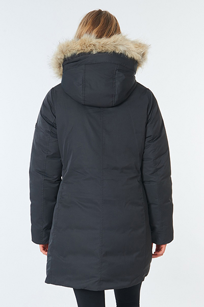 Куртка женская Rip Curl Anti-series Parka Jacket Washed Black
