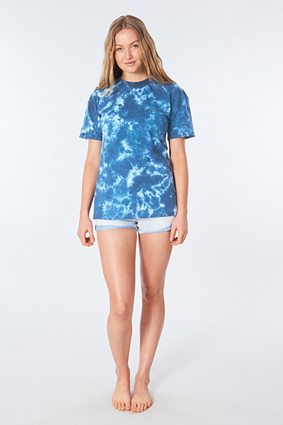 Футболка женская Rip Curl Surf Shack Boy Tee Blue