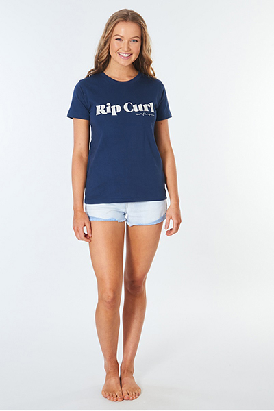 Футболка женская Rip Curl Surf Co Standard Tee Navy