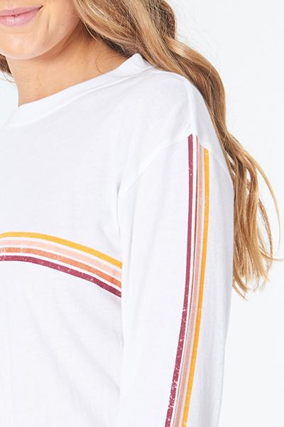 Футболка женская Rip Curl Golden Days Long Sleeve White