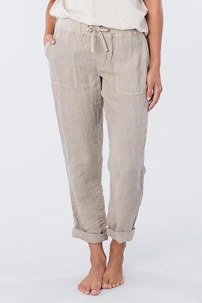 Штаны прямые женские Rip Curl Ж The Off Duty Pant Stone Blue